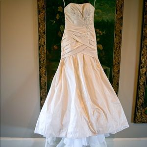 Dimitra Designs Dresses Champagne Colored Wedding Gown Poshmark